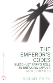 Book cover: The Emperor's Codes