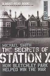 Book cover: The Secrets of Station X